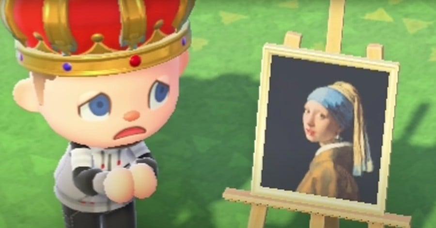 Animal Crossing New Horizons Haunted Art