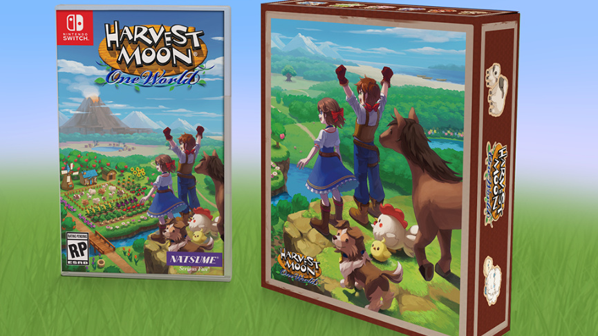 Embrace Farm Life With This Harvest Moon: One World Limited Edition For Nintendo Switch