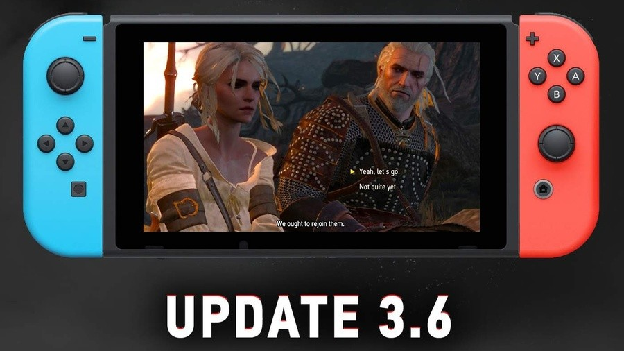 The Witcher Switch Version 3.6
