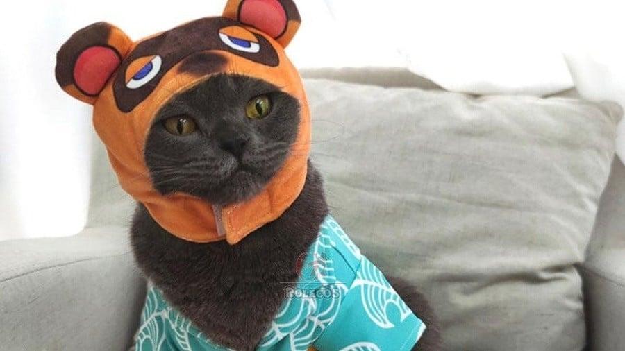 Tom Nook Cat Costume