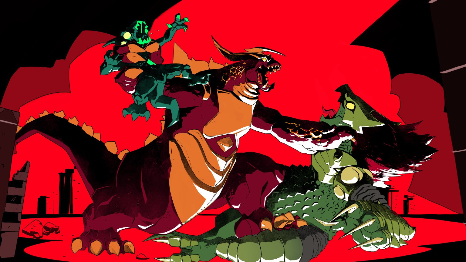 Runbow Dev Announces Dawn Of The Monsters, A Brand-New Kaiju Brawler