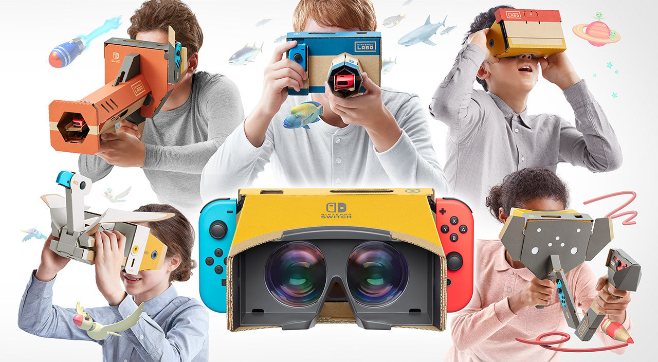 UK Charts: Nintendo Labo VR Fails To Enter Top 40, Yoshi Slips Down To Fifth Place