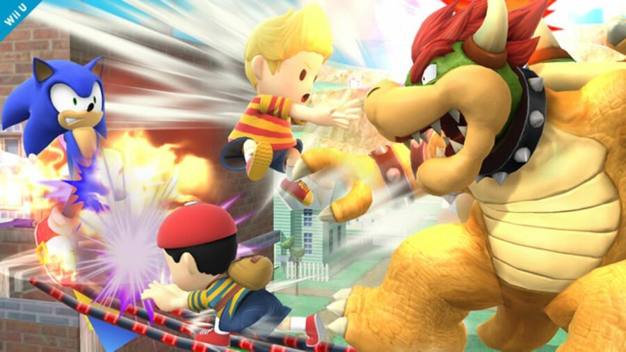 Smash Bros Lucas