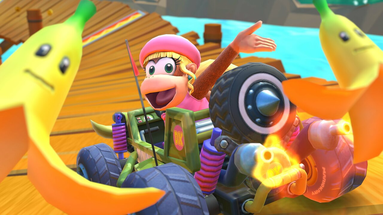 Dixie Kong Celebrates Her Mario Kart Tour Debut With A Special Timeline Video thumbnail