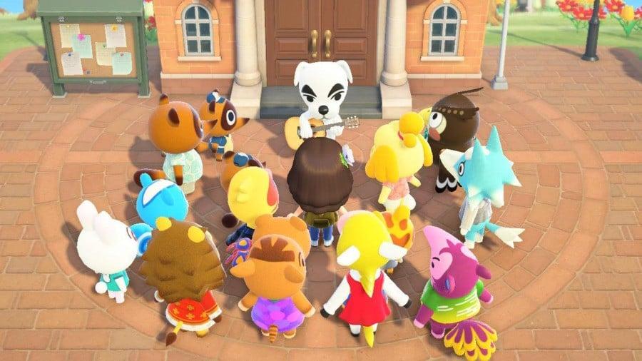Animal Crossing New Horizons Nintendo Switch KK Slider