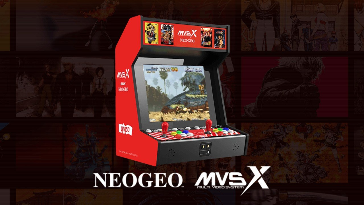 The SNK Neo Geo MVSX Home Arcade Is Packed With 50 Games, Costs 500 Bucks