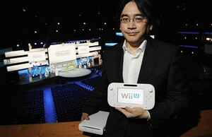 Iwata will pose with Wii U