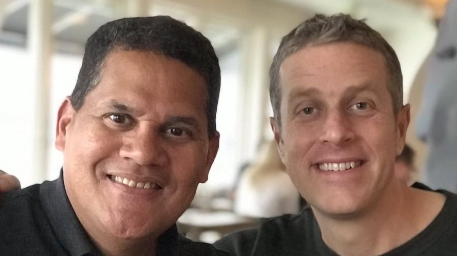 Reggie and Geoff