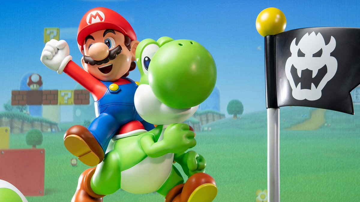 Pre-Orders For Mario And Yoshi Statue Go Live On First 4