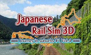 Japanese Rail Sim 3D Journey in suburbs #1 Vol.4