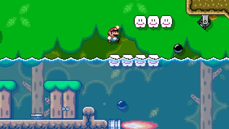 How To Add Water To Levels In Super Mario Maker 2 Guide