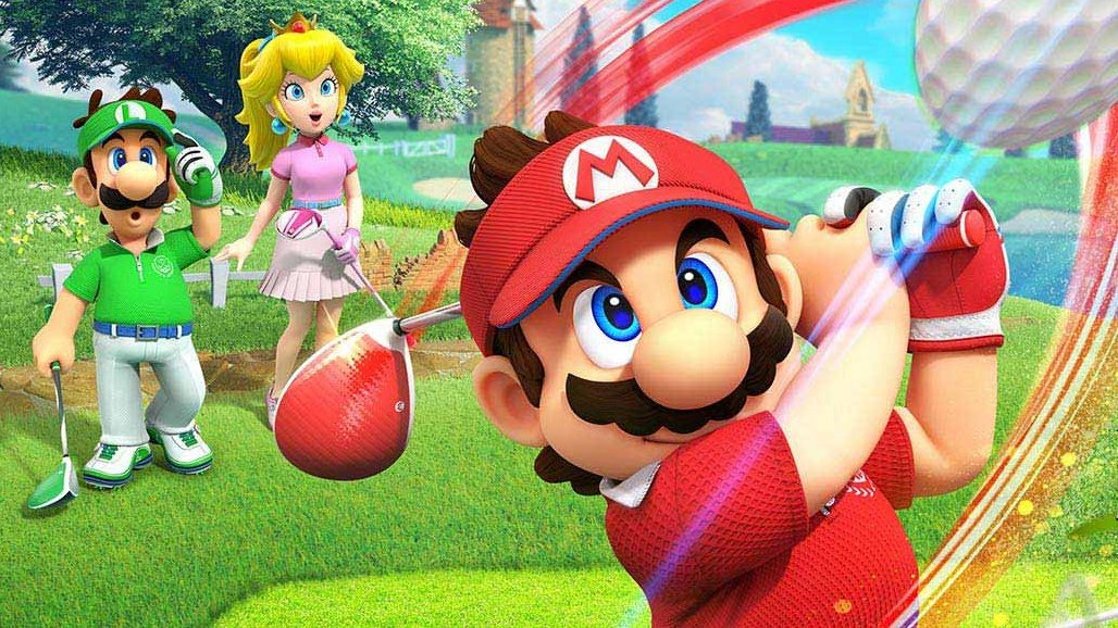 Take A Look The Stunning Nintendo Switch Box Art For Mario Golf: Super Rush
