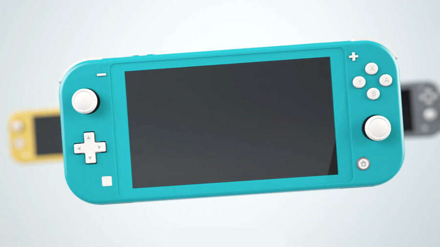 The Nintendo Switch Lite, available from 20th September