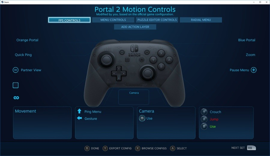 Switch Controller Steam