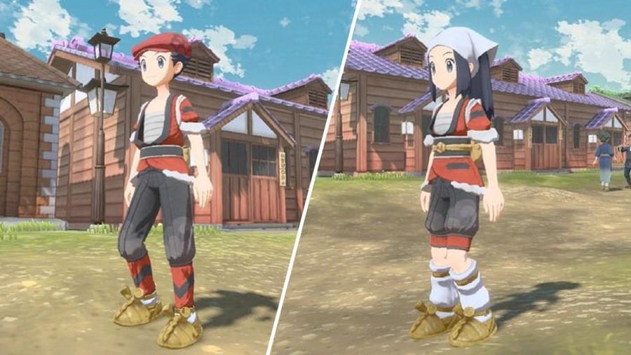 Pokemon Legends Arceus Hisuian Growlithe Outfit