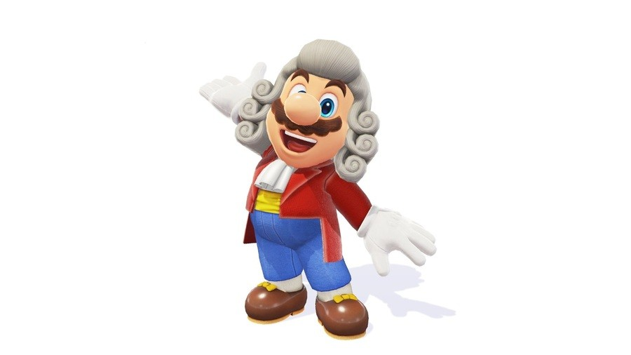 Super Mario Conductor Outfit