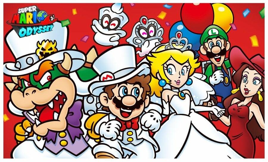Super Mario Odyssey One Year