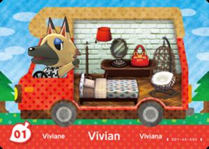 Vivian amiibo card