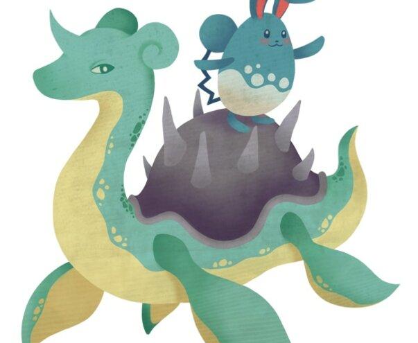 Fan art de Pokémon Lauralei