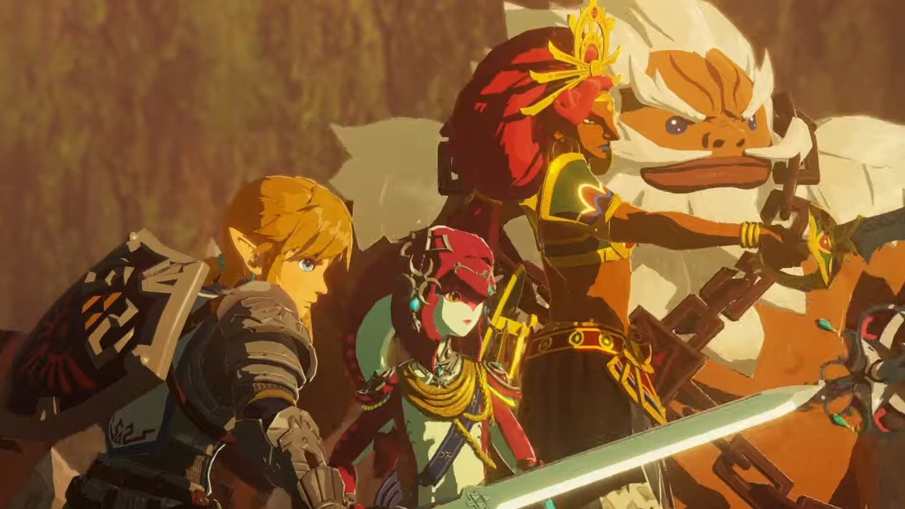 Video Hyrule Warriors Age Of Calamity Champions Unite Tokyo Game Show Trailer Nintendo Life