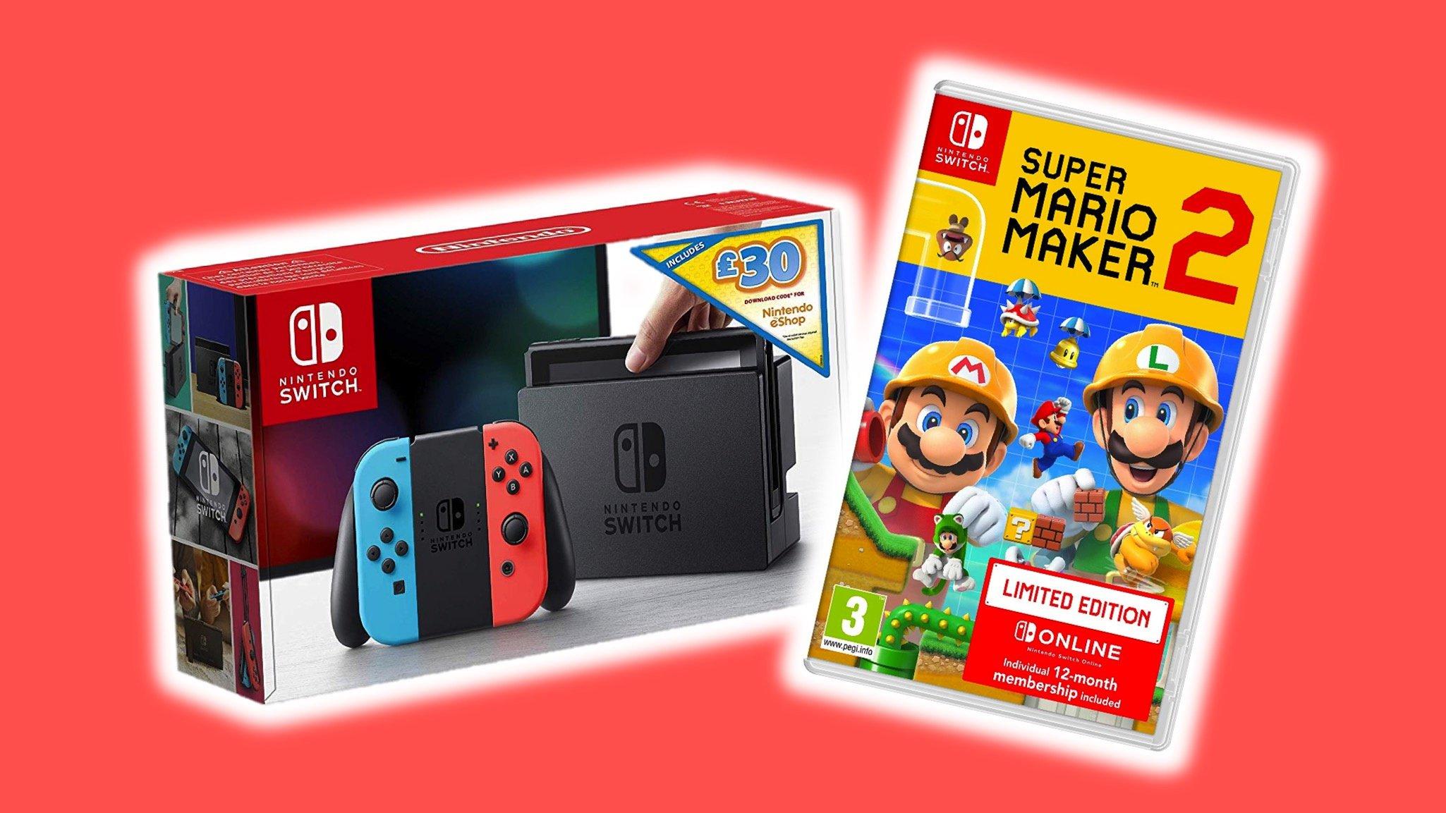 Deals: Get A Nintendo Switch, Super Mario Maker 2 And 12
