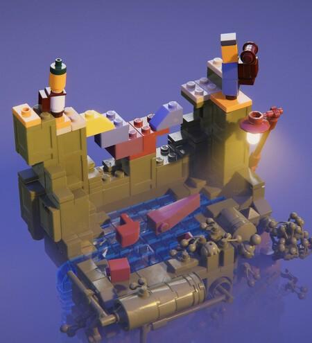 Lego builder tour