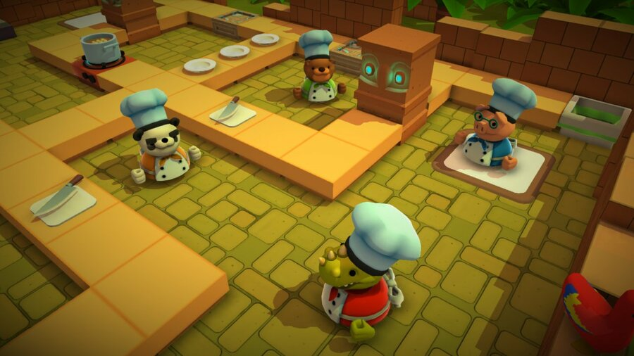 The weird world of Overcooked