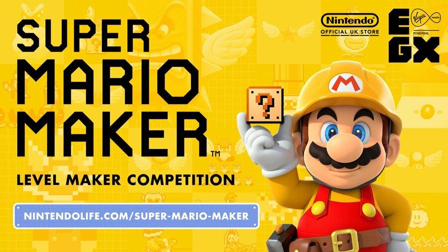 Super Mario Maker EGX Winners