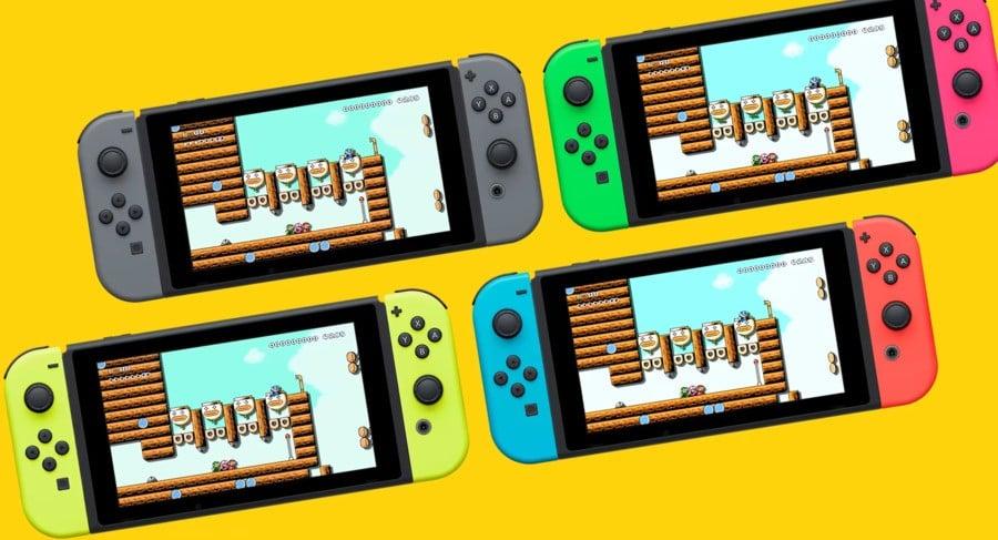 Super Mario Maker 2 Multiplayer