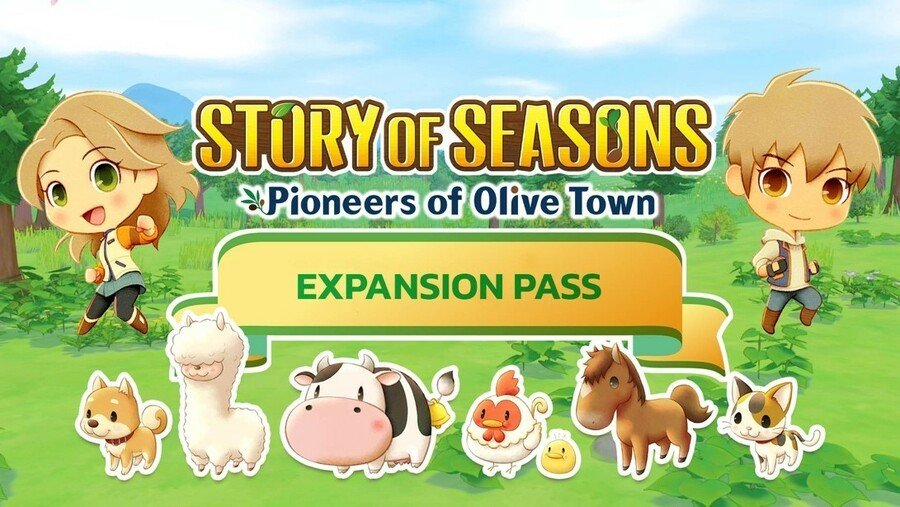 Story Of Seasons Friends Olive Town Expansion Pass 1