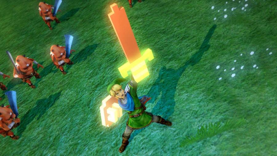Hyrule Warriors 8 Bit Sword