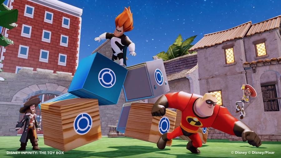 Wii U Disney Infinity Gameplay 01