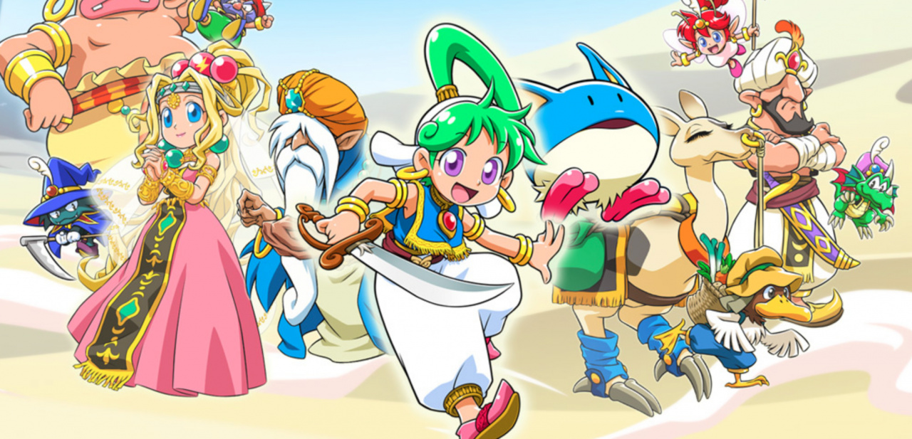 Wonder Boy - Asha In Monster World Director Explains Why He Chose That Divisive 2.5D Art Style