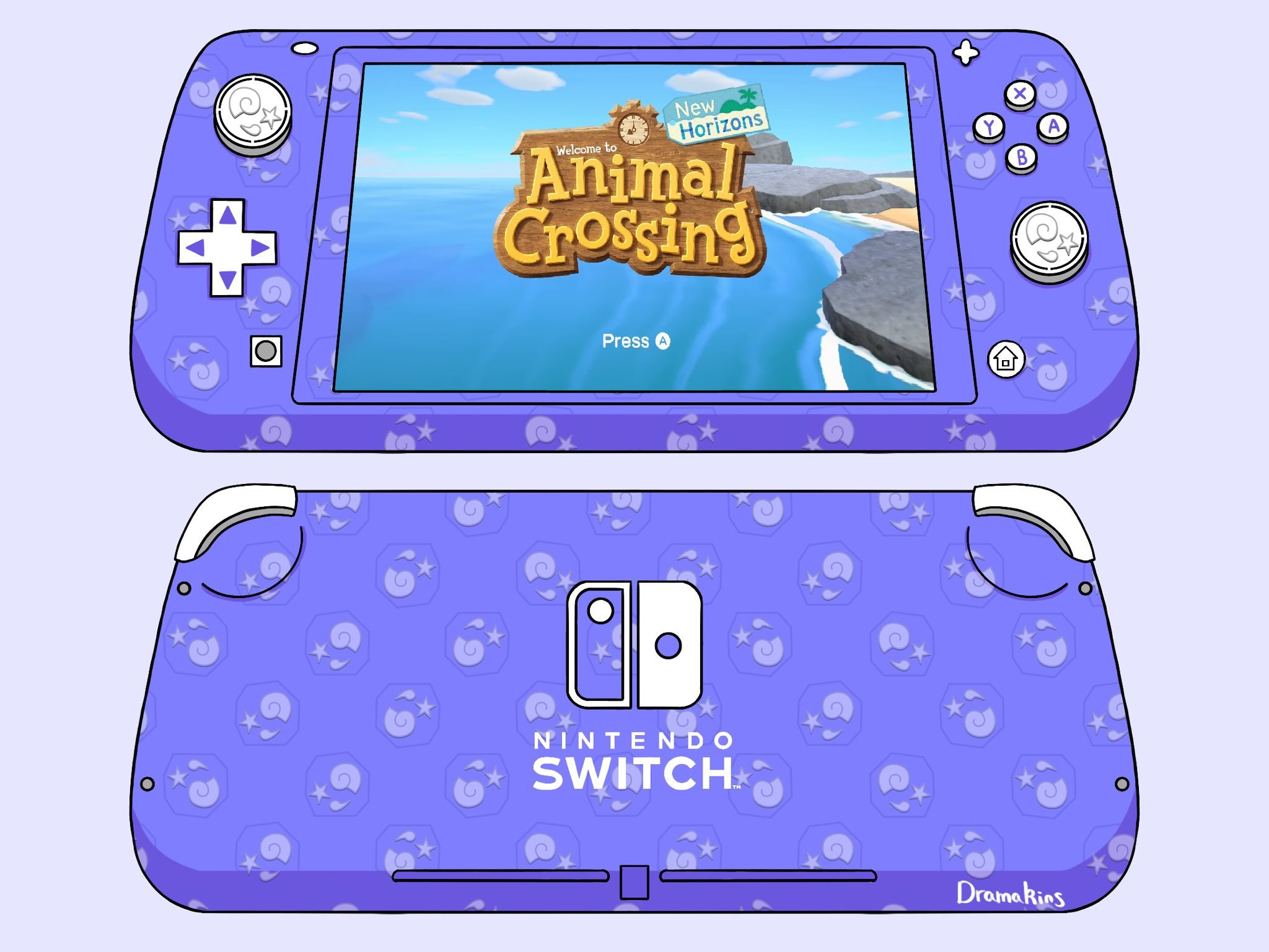 Fans Keep Designing Animal Crossing Switch Lites And Now ...