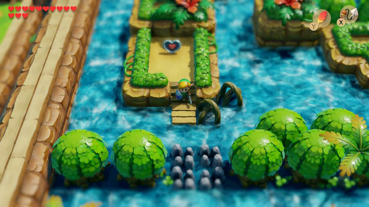 Zelda Link S Awakening Walkthrough Heart Piece Map And