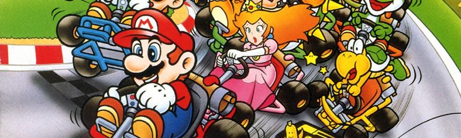 Super Mario Kart Banner
