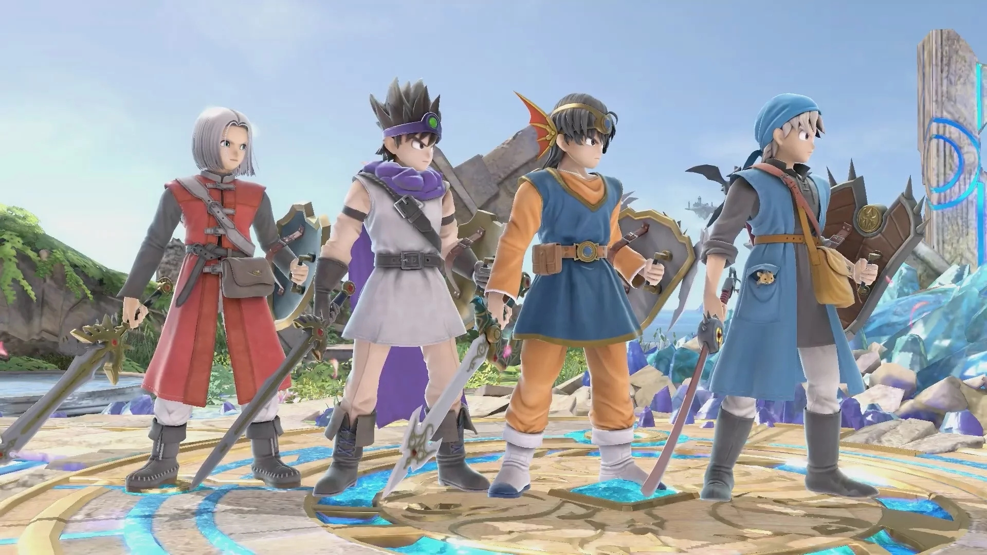 Reminder: The Hero From Dragon Quest Is Now Available In Super Smash