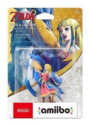 Zelda and Loftwing amiibo Pack