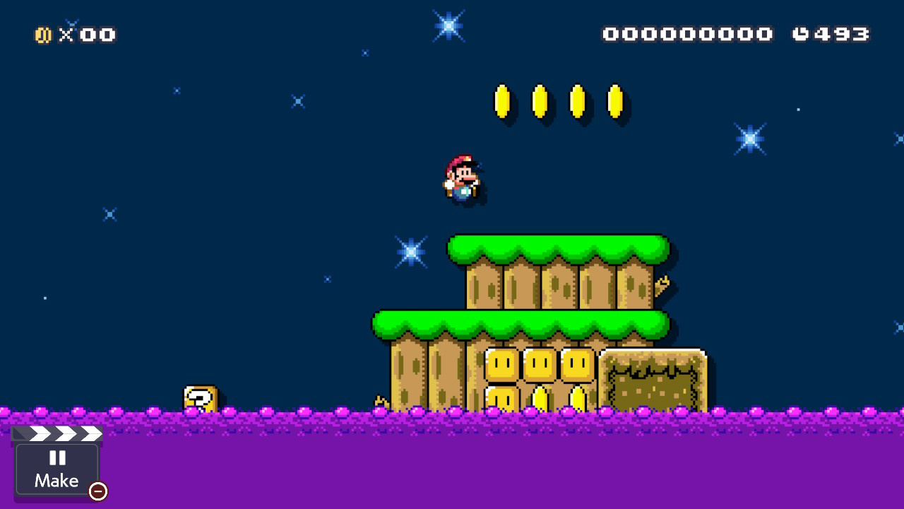 How To Add Water To Levels In Super Mario Maker 2 - Guide