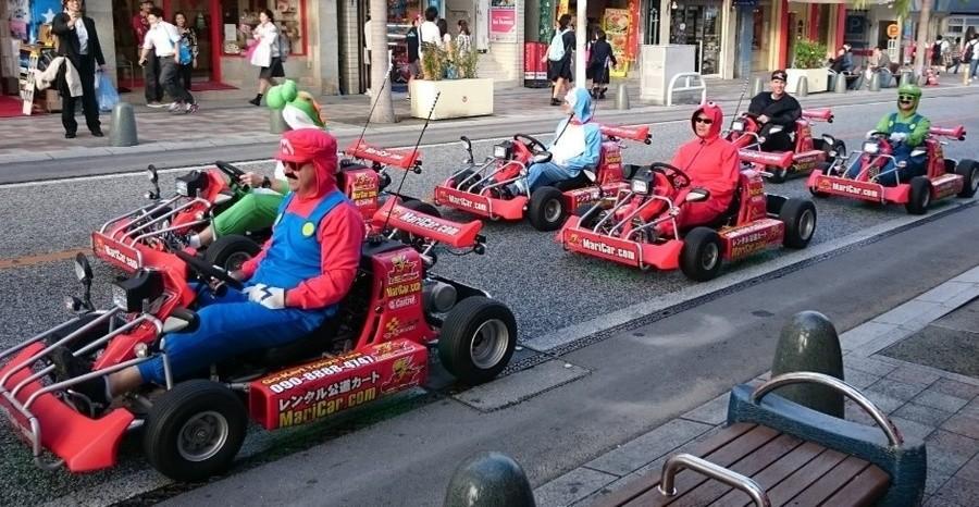 Mario Kart Real Life IMG