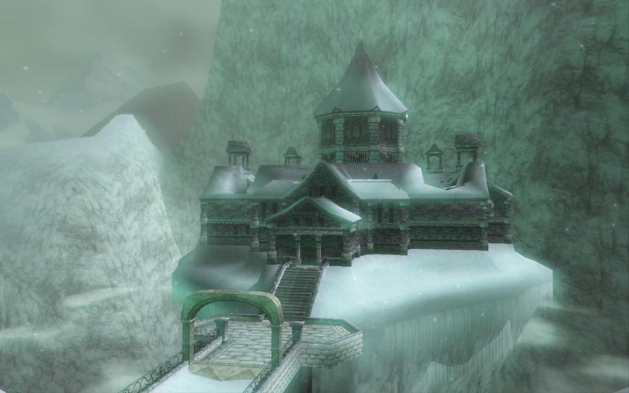 The Legend of Zelda: Twilight Princess - Snowpeak Ruins (GameCube)