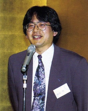 Iwata in his 'HAL' days