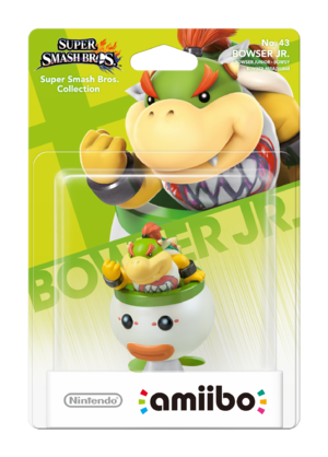 Bowser Jr. amiibo Pack