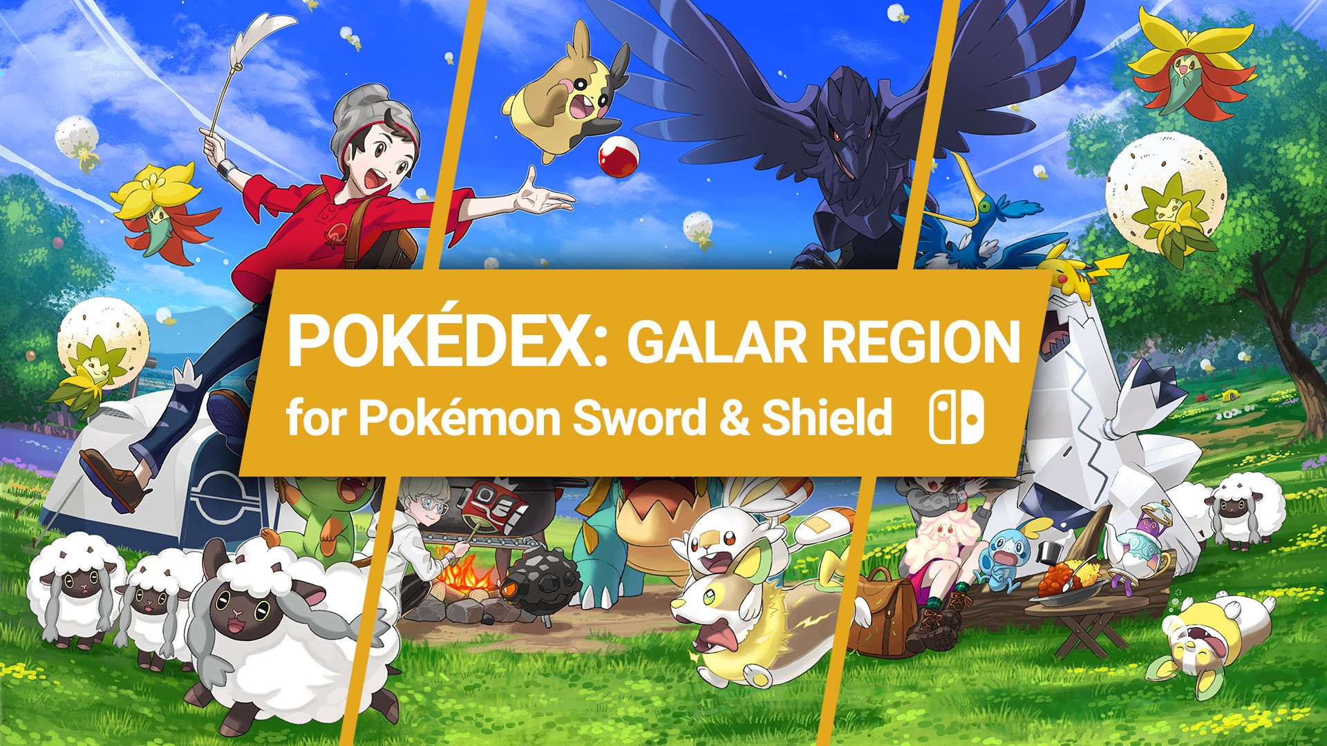 Pokemon Sword And Shield Pokedex Galar Region Nintendo Life A groovy way to use the java virtual machine. pokemon sword and shield pokedex galar