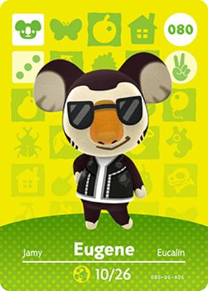 Eugene amiibo card