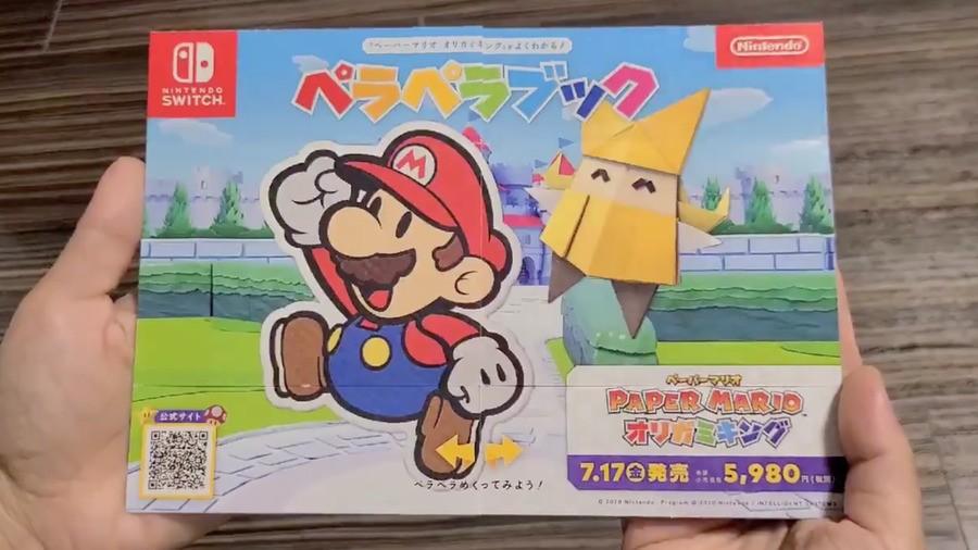 Paper Mario Leaflet, Japan