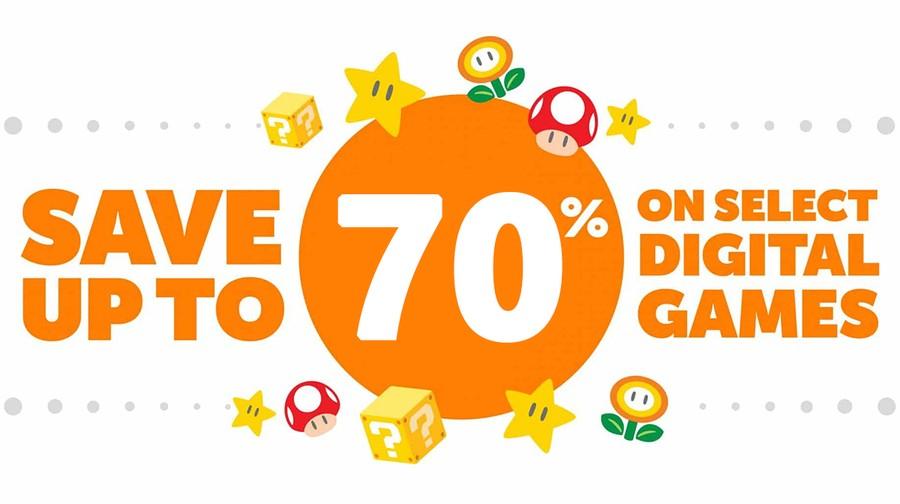 Nintendo eShop Sale - 70% Off