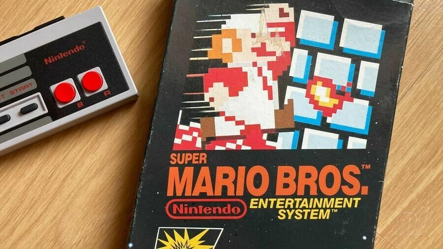 Super Mario Bros PAL Box
