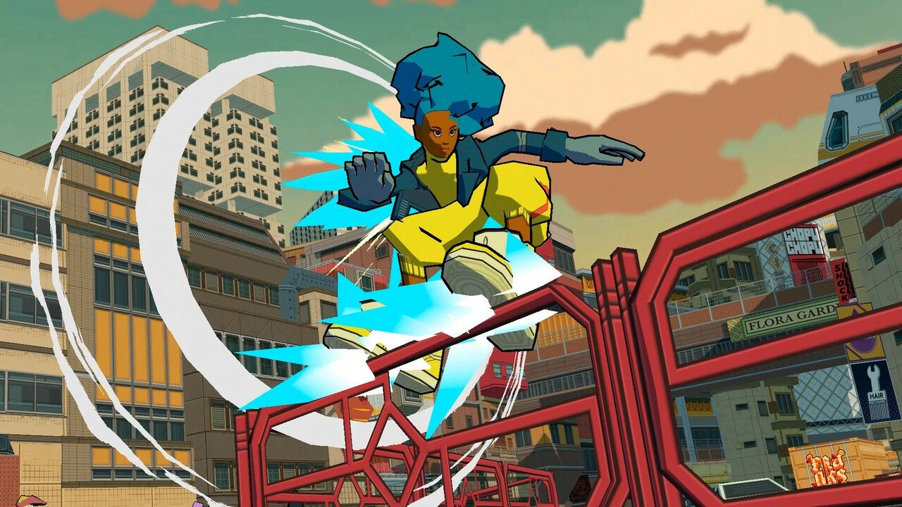 Jet Set Radio's Legacy Lives On In This Official Trailer For Bomb Rush Cyberfunk