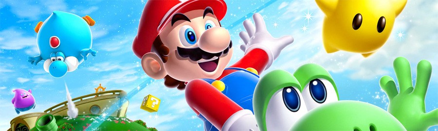 Mario Galaxy 2 Banner
